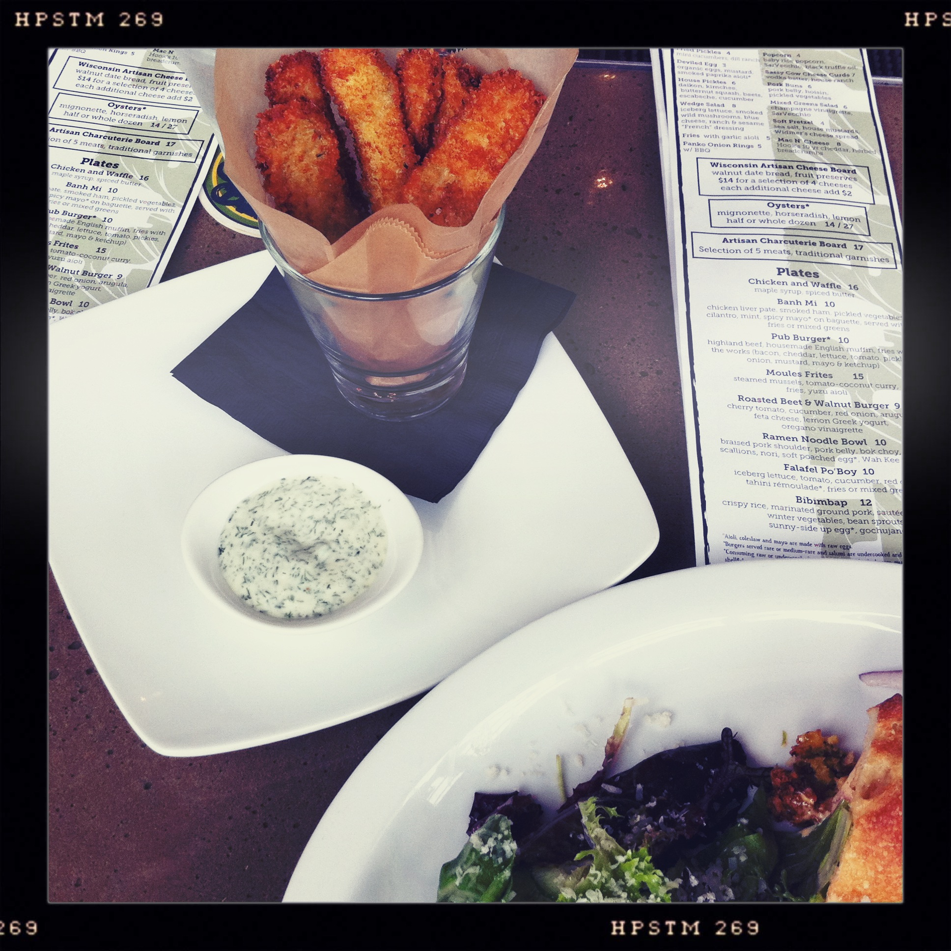 Fried Pickles at Graze