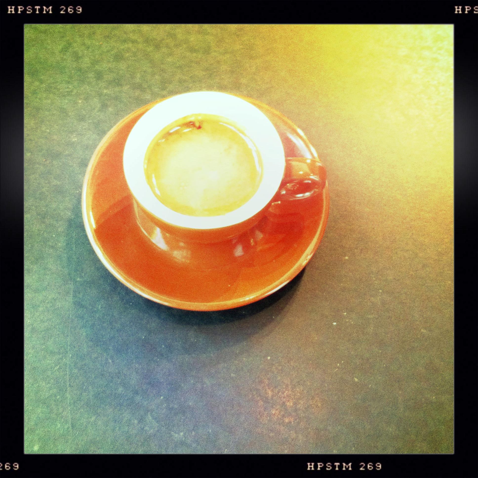 I like espresso...